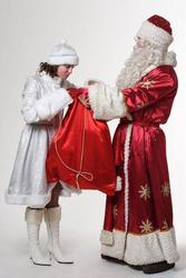 Дед мороз и Снегурочка в Гомеле